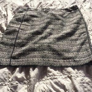 Liz Claiborne black and White Tweed Skirt Sz 12p
